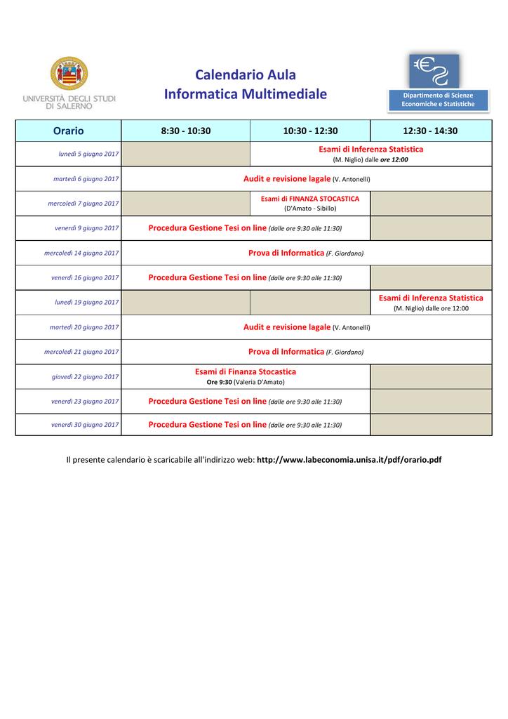 Unisa Calendario Esami.Calendario Esami Medicina Unisa Calendario 2020