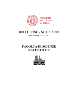 Bollettino A.A. 2011/2012 in formato