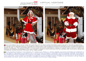 virtual hostess