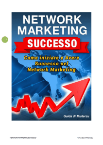 NETWORK MARKETING SUCCESSO © Guida di