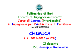 CHIMICA - fataing.poliba.it