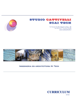 curriculum - STUDIO CATTIVELLI