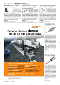 Encoder lineare RELM ad alta accuratezza