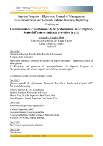 Impresa Progetto – Electronic Journal of Management in