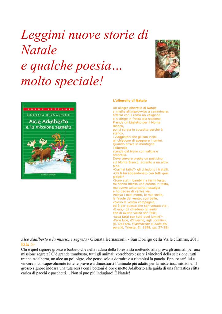 Leggimi Nuove Storie Di Natale E Qualche Poesia