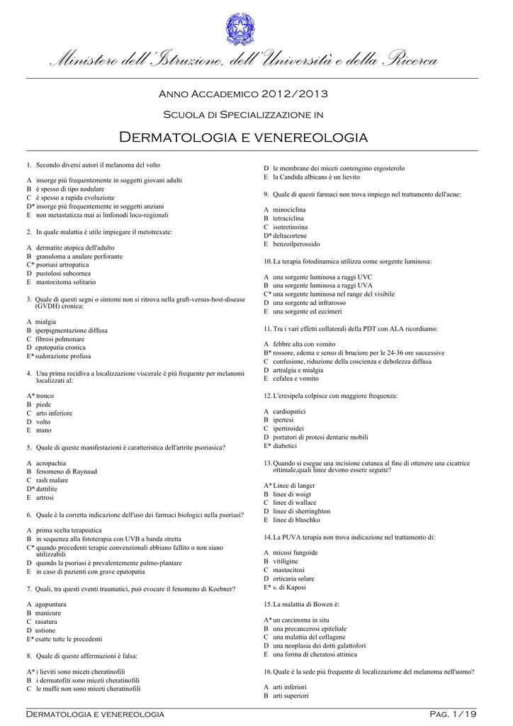 dermatologia delle linee di blaschko