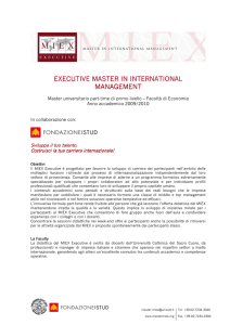 executive master in international management management