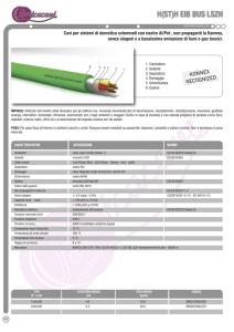 Connessione dispositivi Cavo SIHF SILICONE RESISTENTE CALORE 3x2,5 5m Rosso//Marrone