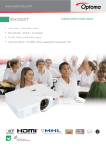 EH200ST - Optoma