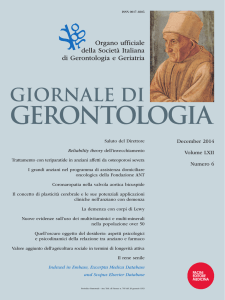 PDF of the Issue - Journal of Gerontology and Geriatrics