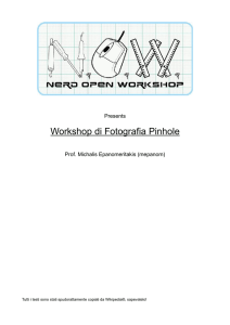Pinhole - Nerd Open Workshop