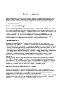 Partorire senza dolore - Obstetric Anaesthetists` Association