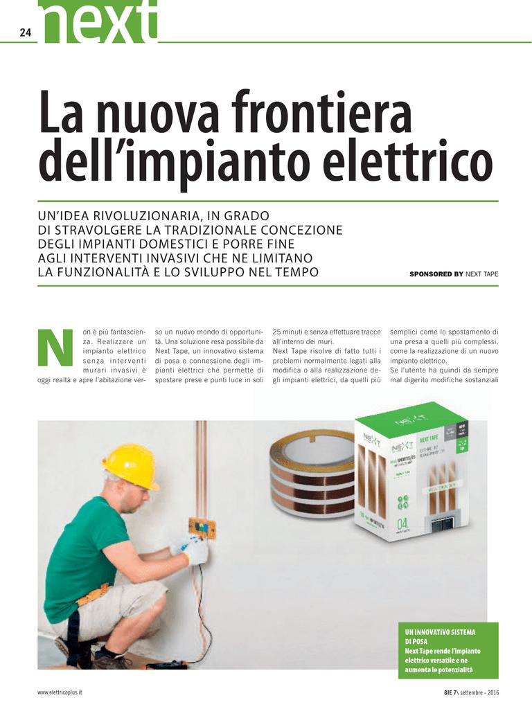 Il Nuovo Impianto Elettrico