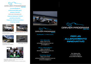 Scarica la Brochure - Driver Program Center