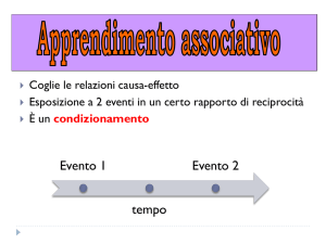 W5-2 Apprendimento associativo File - Progetto e