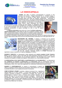 Enteroscopia con Videocapsula - Endoscopiadigestiva.it di Felice