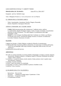 Filosofia - Liceo scientifico Gobetti