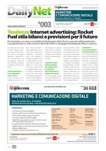 TendenzeInternet advertising: Rocket Fuel stila bilanci