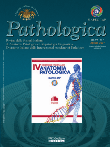 4-2007 - Journal of the Italian Society of Anatomic Pathology and