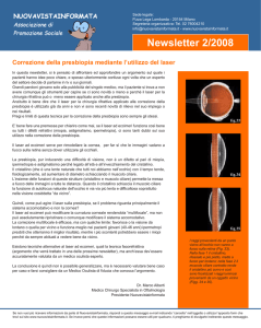 Newsletter 2/2008 - NuovaVistaInformata