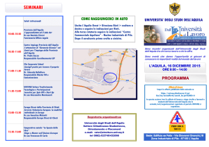 Career Day 2015 (Programma Definitivo) - discab