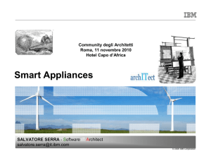 Smart Appliances - Guide Share Italia