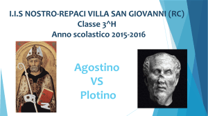 agostino vs plotino 3h liceo scientifico