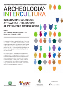 ARCHEOLOGIA INTERCULTURA