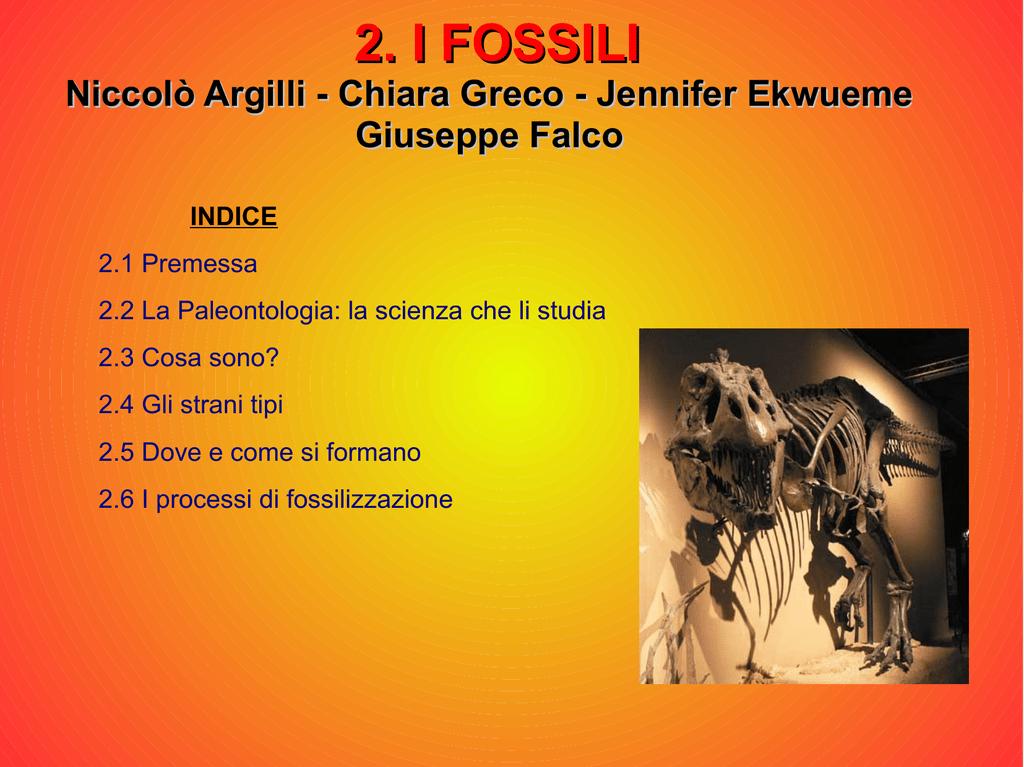 Quali sono due modi di datare fossili