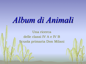 Album di Animali