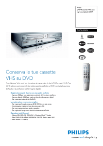 DVDR3320V/02 Philips DVD Recorder/VCR con ingresso digitale i