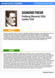 sigmund freud - Mondadori Education