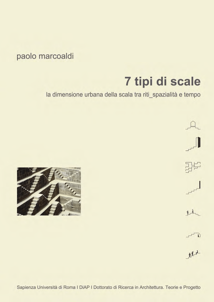 7 tipi di scale - Padis