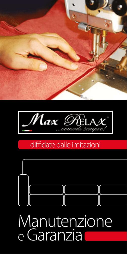 Max Relax Divani Isola Capo Rizzuto.Scarica Manuale