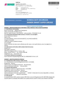 scheda dati sicurezza ihimer smart super grease