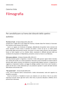 Filmografia - Campus - Mondadori Education
