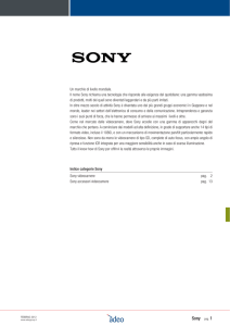 Sony pag. 1