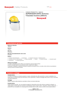 Scarica la scheda tecnica - Honeywell Safety Products