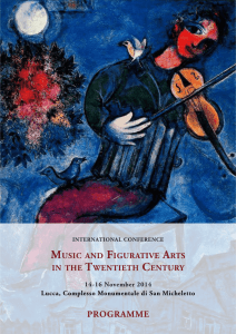 Music and Figurative Arts in the Twentieth Century