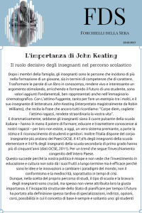 L`importanza di John Keating