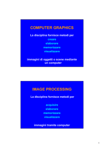 COMPUTER GRAPHICS IMAGE PROCESSING