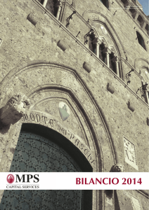 MPS Capital Services - Bilancio 2014 italiano