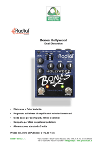 Radial scheda Bones Hollywood