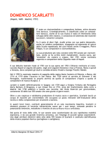 domenico scarlatti - music-box
