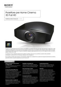 Proiettore per Home Cinema 3D Full HD
