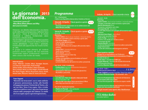 il programma in pdf (interno)