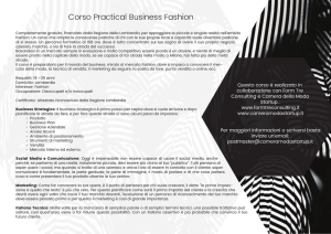 Corso Practical Business Fashion
