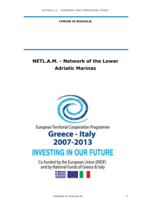 NETL.AM - Network of the Lower Adriatic Marinas