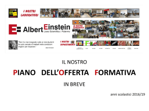 Liceo Scientifico Statale ALBERT EINSTEIN PALERMO Distretto n