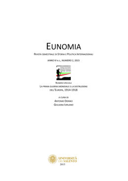 eunomia - ESE - Salento University Publishing